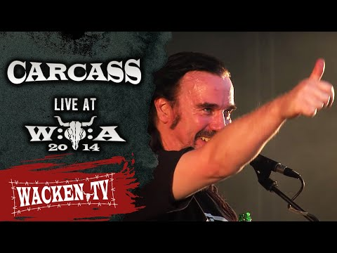 Carcass - 3 Songs - Live at Wacken Open Air 2014