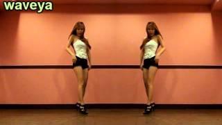 Waveya ari k-pop tutorial ★5dolls Like This or That mirror mode 이러쿵저러쿵 안무