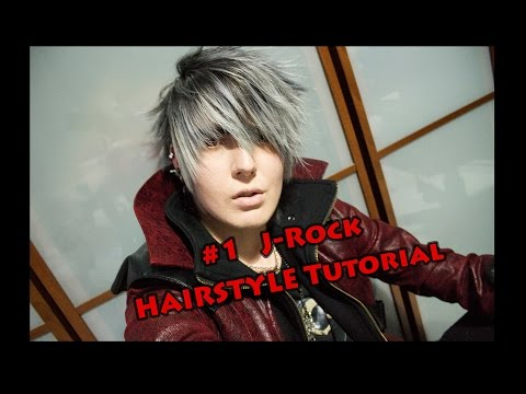 #1 Visual Kei HAIRSTYLE Tutorial J-Rock By Misch.Axel