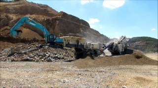 Metso Lokotrack LT220D - test and run-in