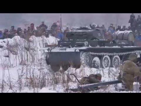 Η αναπαράσταση της μάχης του Λένινγκραντ