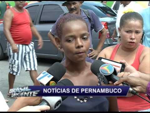 Protesto contra insegurança nas escolas de Jaboatão dos Guararapes