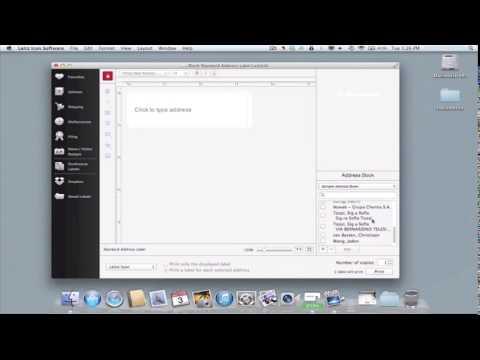 Leitz Icon für PC und MAC: Adressetikett erstellen