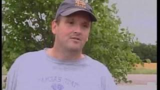 Danny Touchatt (camera/editing) and Jennifer Bocchieri of KAKE TV 10 out of Wichita, KS report from Chapman, KS showing...