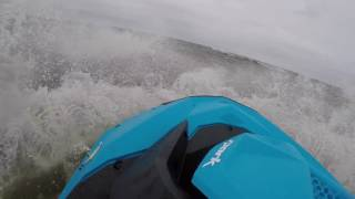 Download Lagu 2017 Sea Doo Spark takes on Severe Storm in Barnegat Bay New Jersey GoPro Hero 5 Black Mp3