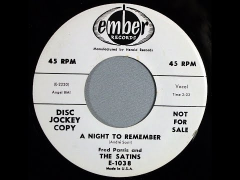 The Five Satins - A Night To Remember (1958 Doo Wop Gold)