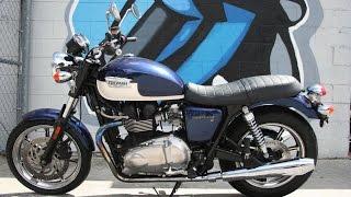 9. 2011 Triumph Bonneville SE...Classic Style with Modern Features!