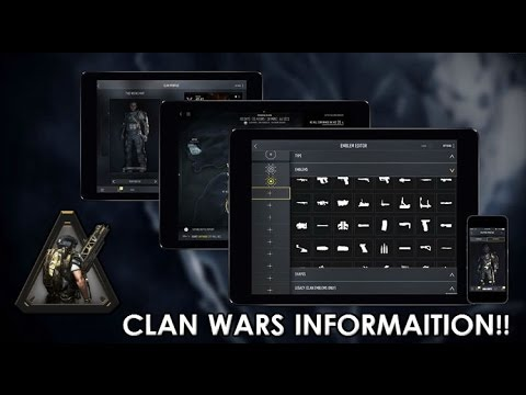 comment monter xp clan advanced warfare