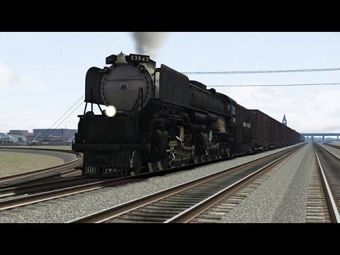 LIVE - Train Simulator 2015 - Union Pacific Challenger - Sherman Hill