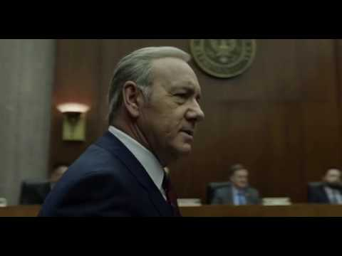 Frank Underwood (Kevin Spacey) In The House Of Cards (2017)