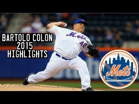 Bartolo Colon | 2015 Mets Highlights HD