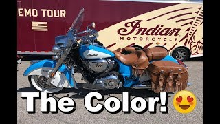 1. 2018 Indian Chief Vintage Review - Test Ride | Rider DROPS BIKE!