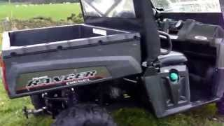 7. Polaris Ranger Diesel ATV for sale £6650 + VAT