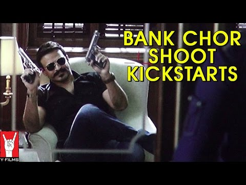 Bank Chor Shoot Kickstarts - Riteish Deshmukh | Vivek Oberoi | Rhea Chakraborty