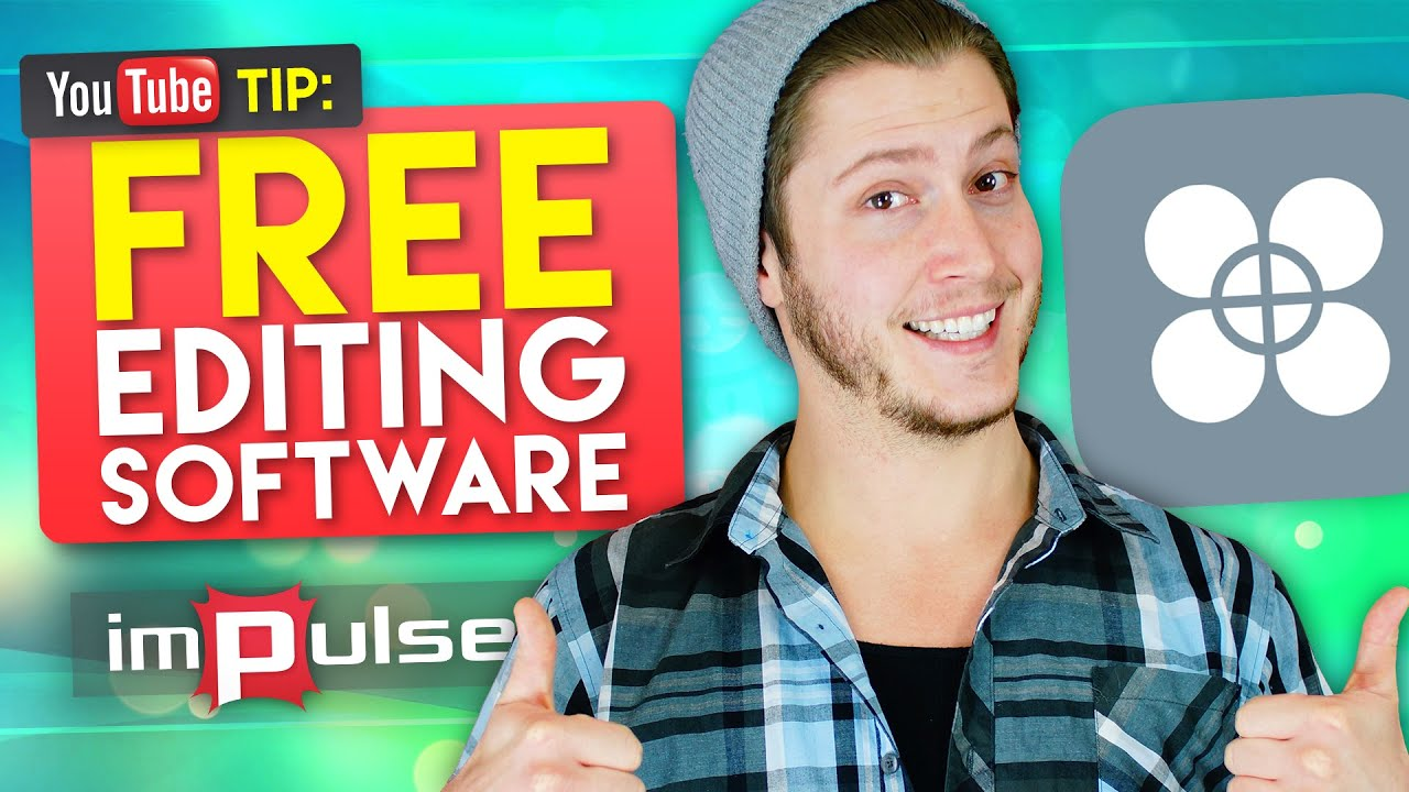 ★ FREE Editing Software!