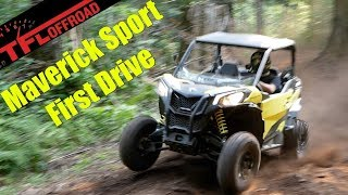 8. 2019 Can-Am Maverick Sport: Watch this before you buy