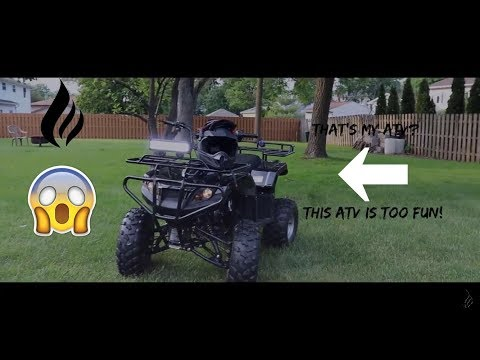 I went too fast! | My ATV!