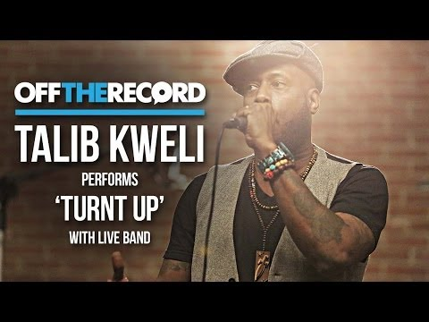 "Watch Talib Kweli Perform ""Turnt Up"" With A Live Band"