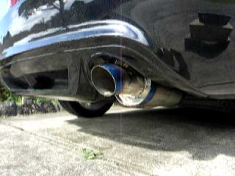 J's racing - stainless steel exhaust system 50R for JDM Honda Civic FD1 R18A engine.