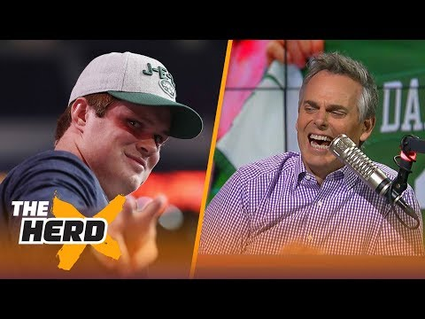 Colin Cowherd On NY Jets Acing 2018 NFL Draft With Sam Darnold, Josh Rosen To Cardinals | THE HERD