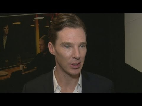 Benedict Cumberbatch - More Sherlock interviews: http://goo.gl/uSrYUp Subscribe to TheShowbiz411! http://goo.gl/SsI4eN Benedict Cumberbatch, Martin Freeman and the cast of Sherlock...