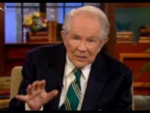 Pat Robertson Says Demons Attach Themselves to Clothes Video
