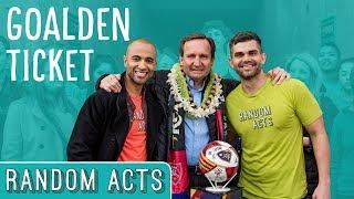 Real Salt Lake Soccer Surprise - Random Acts