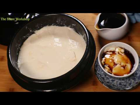 Let's Make Taho! A Delicious Super Fine Tofu Filipino Snack or Dessert That You can Make At Home!