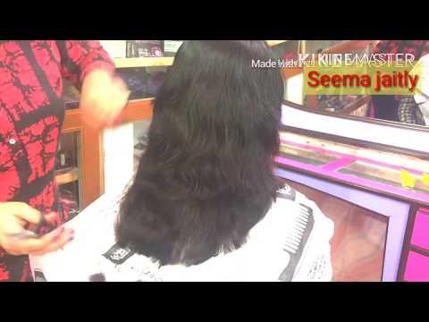 Hair cutting - Dimond Hair in very easy way/How to cut Dimond hair cut/ Steps hair cut/ Seema jaitly