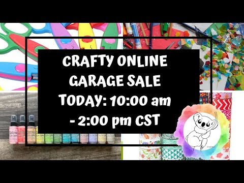 Crafty Online Garage Sale
