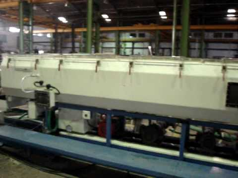 Windsor Machines Limited R PVC Pipe Extrusion Line Model KTS 450 Part 2