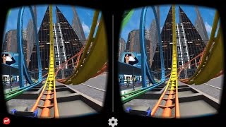 Video VR Roller Coaster - Best 3D SBS VR Roller Coaster for Google Cardboard download in MP3, 3GP, MP4, WEBM, AVI, FLV Mei 2017