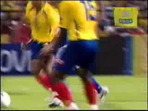 Actuación de José Amaya en la selección Colombiana