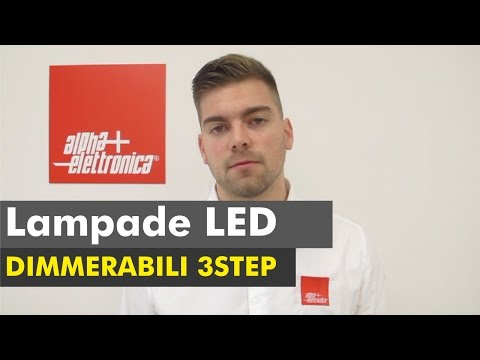 Lampada Led Dimmerabile 3 Step - LB130/16WW2