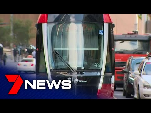 Sydney's new light rail undergoes its first evening peak hour test   7NEWS
