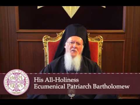 Video Message By His All-Holiness To The Assembly of Canonical Orthodox Bishops of the United States of America