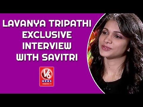 Lavanya Tripathi Exclusive Interview with Savitri | Srirastu Subhamastu | Madila Maata | V6 News