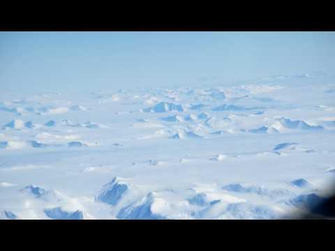 Antarctica flight to Mario Zucchelli station