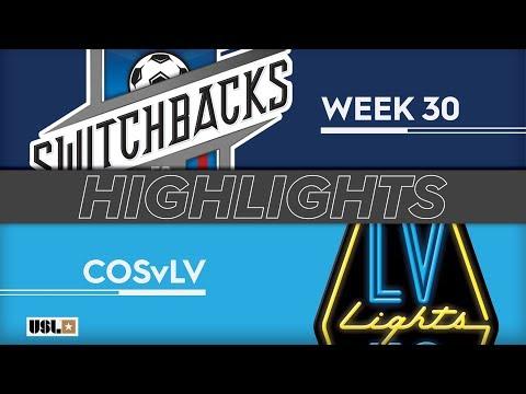 Колорадо Спрингс - Las Vegas Lights 1:3. Видеообзор матча 29.09.2019. Видео голов и опасных моментов игры