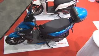 7. KYMCO Agility 125 16+ (2015) Exterior and Interior in 3D