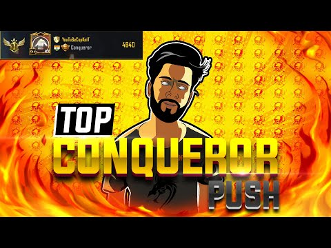 let's go today Top10 rank | SOLO VS SQUAD player pushing Asia top Conqueror | PUBG mobile india live