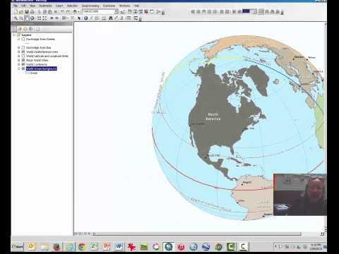 Geography 102 - Lab 2, Part 1: Projections In ArcMap