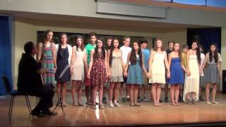 Quentar Spain  city photos : Sewickley Academy Students perform songs in Spanish and English for the town of Quéntar.