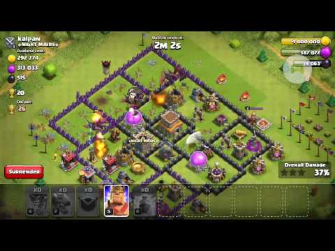 Dragon attack : th7 VS th8, lvl 2 dragon VS lvl 6 air defence. ✌✌:  I cannot believe I pulled this off!!!  Dragon attack cutting edge attack strategies. Check it out. Lemme know what you think!