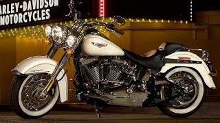 5. New 2015 Harley Davidson Softail Deluxe Motorcycle