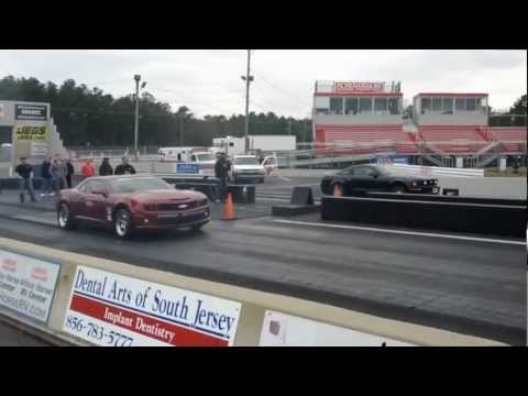 Mustang vs. Camaro vs. Challenger heads up race