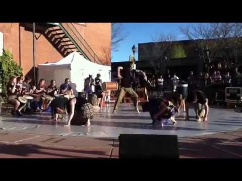 FALA African Drum and Dance at Empty Bowls 2014