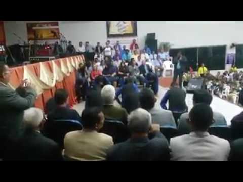 Coreografia do grupo de senhores da assembléia de Deus em Oriximiná