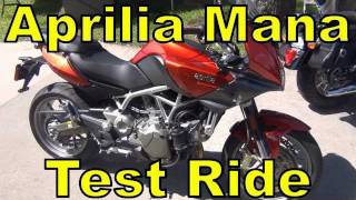 9. 2011 Aprilia Mana 850 Quick Test Ride