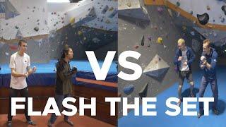 FLASH the set Grand-master edition || BOBAT Vs VauxWall by Bouldering Bobat